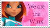 We are the Winx Stamp by Kikurukina
