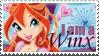 I am a Winx Bloom Stamp