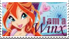 I am a Winx Bloom Stamp by Kikurukina