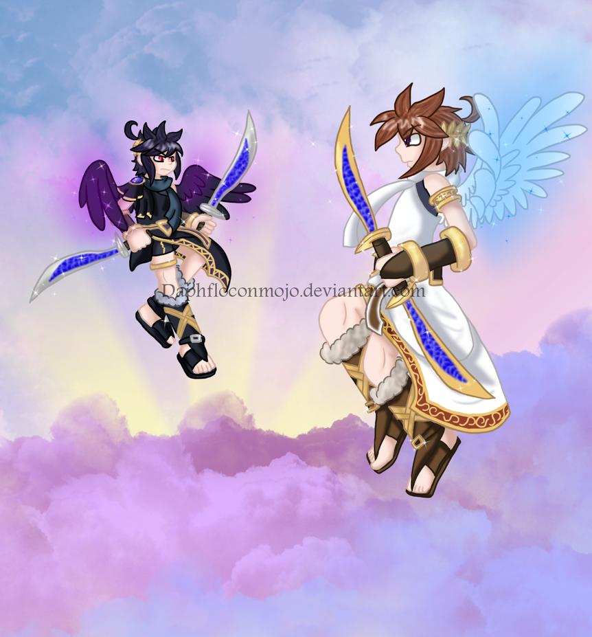 Kid Icarus D Anime Thanatos Rising Part Debug Mp