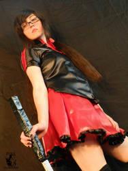 Saya Kisaragi Blood C Cosplay Tokizane omoi kaze e by konohanauzumaki