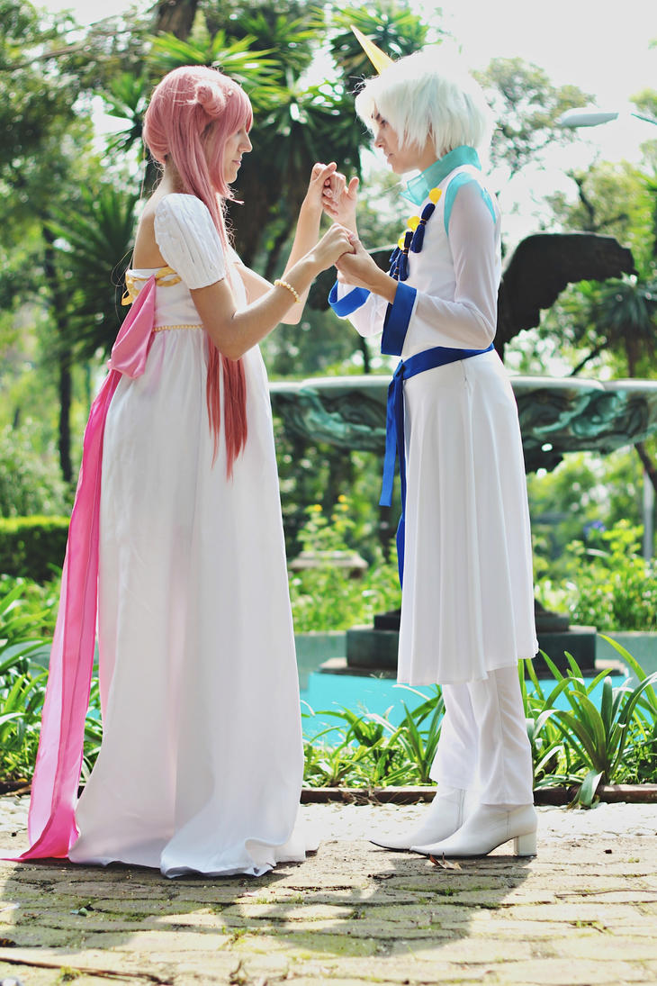 Chibiusa and Helios Cosplay Eien no ai by konohanauzumaki