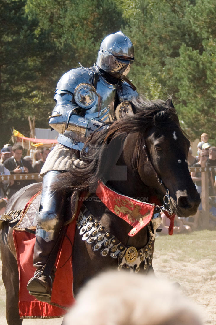 Medieval Festival 2009 - Knight on Horse by samcote on ...