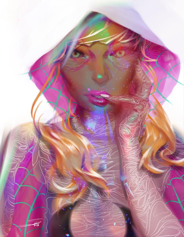 Spider Gwen - Patreon by HowlSeage