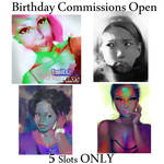 5 Slots opening   Commissions by HowlSeage