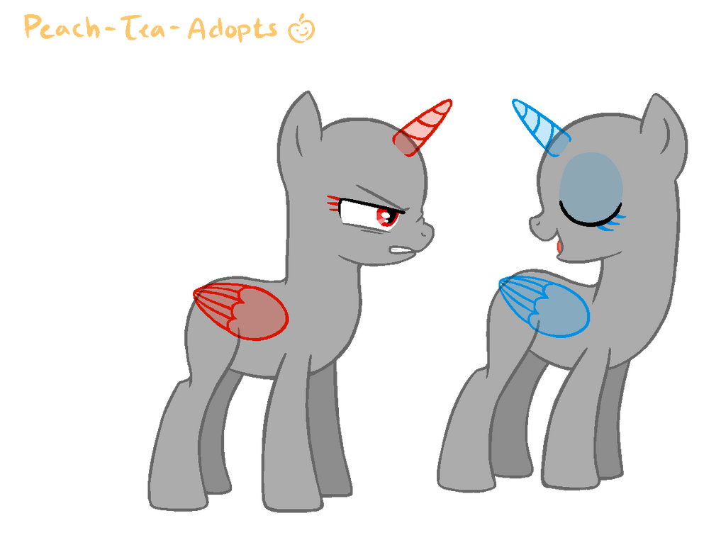 Would You Just Shut Up Mlp Base By Peach Tea Adopts On