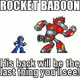MMX - Contest : Rocket Baboon by Dark-Ax