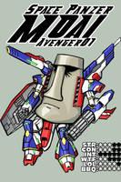 Space Panzer MOAI Avenger01 by Dark-Ax