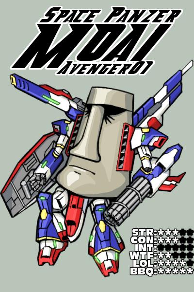 Space Panzer MOAI Avenger01
