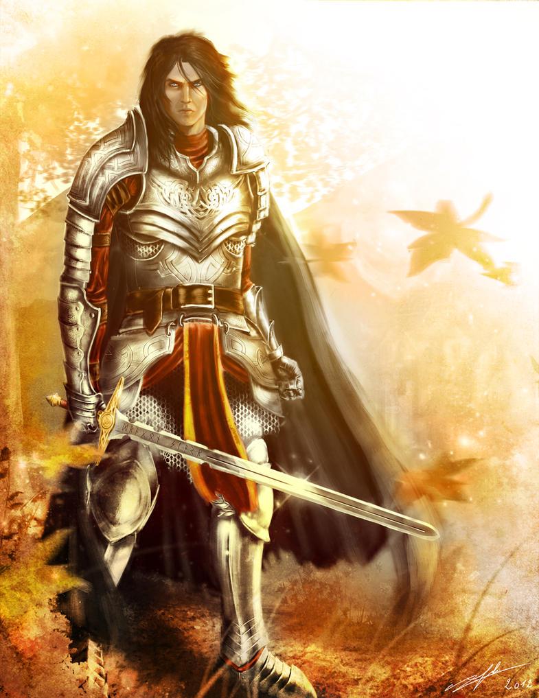 Warrior by Azeltas