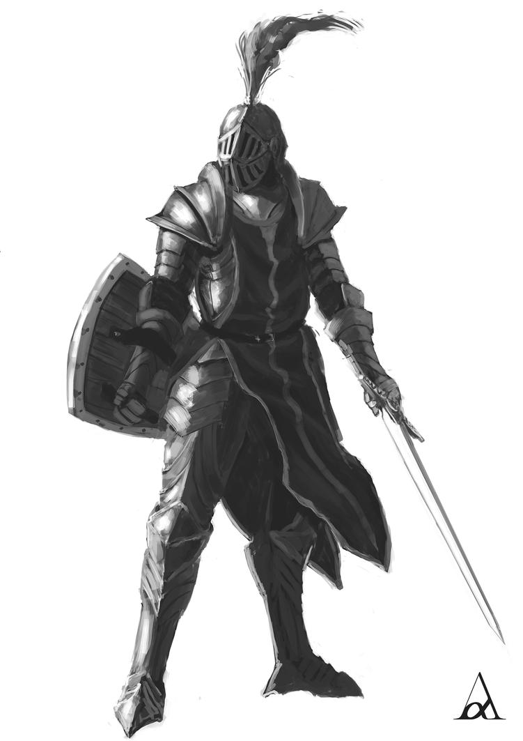 Knight by Azeltas