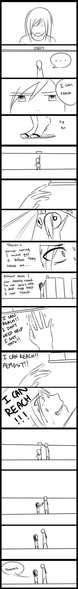 Shorty struggles