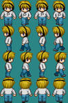 RPG Maker XP Sprite PewDiePie