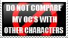 OC comparison stamp by liento