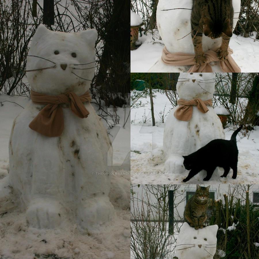 Snow Cat(s) by TheGingerBandit
