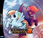 Rainbow Escape by foolyguy