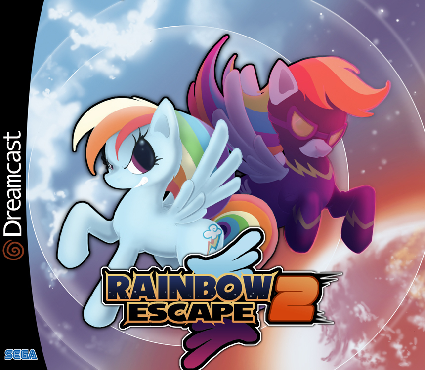 Rainbow Escape by foolyguy