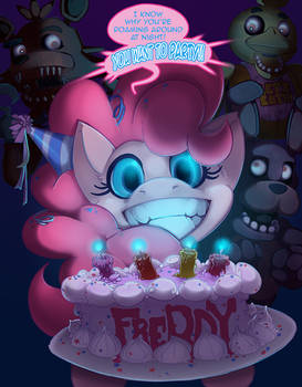 Five Nights with Pinkie 1rst Night