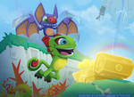 Yooka Laylee ready for action!