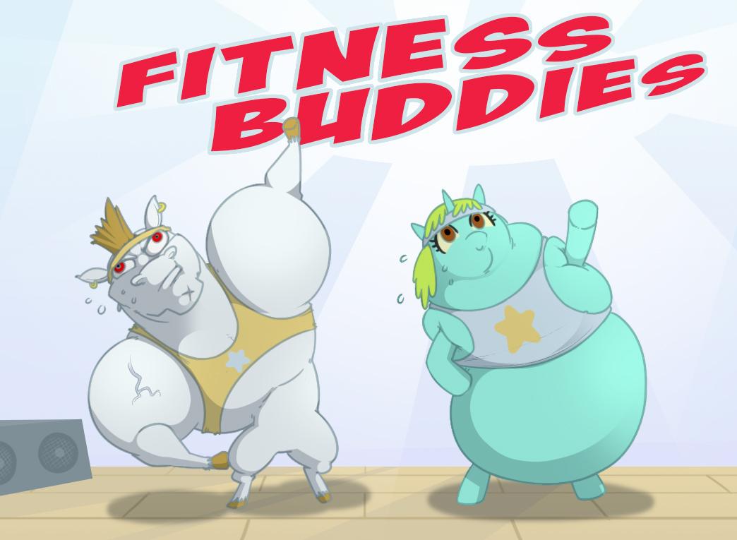 Fitness Buddies by foolyguy