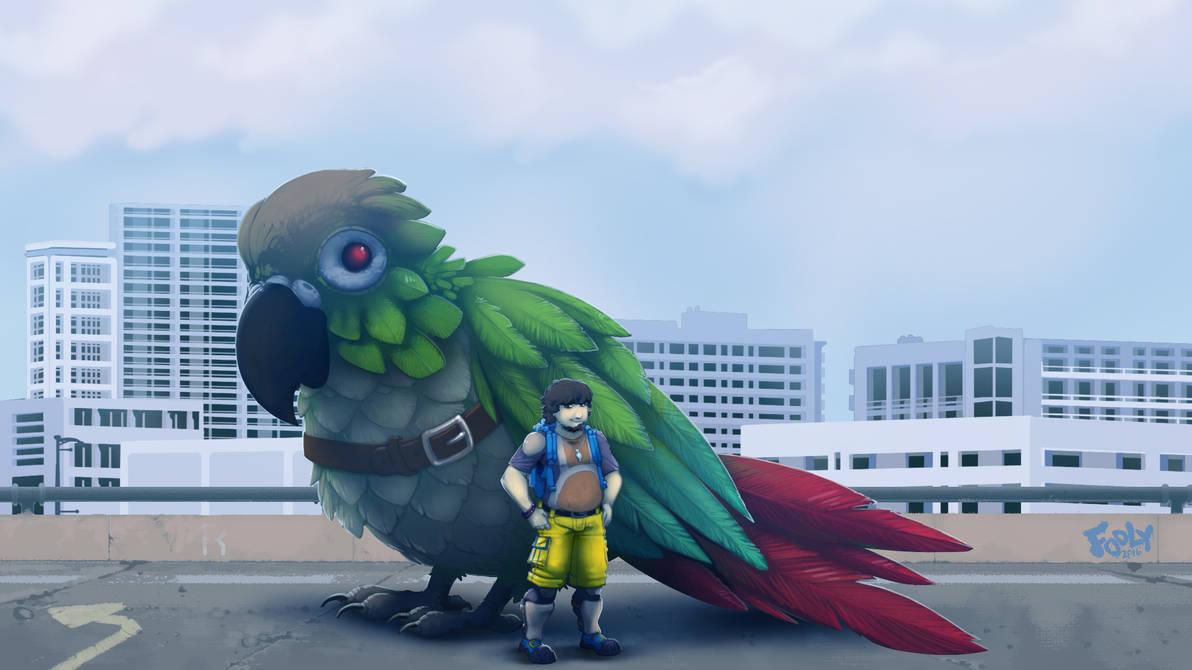 Jontron and Avian Ally
