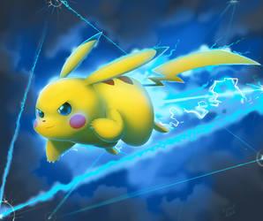 Pikachu Up + B