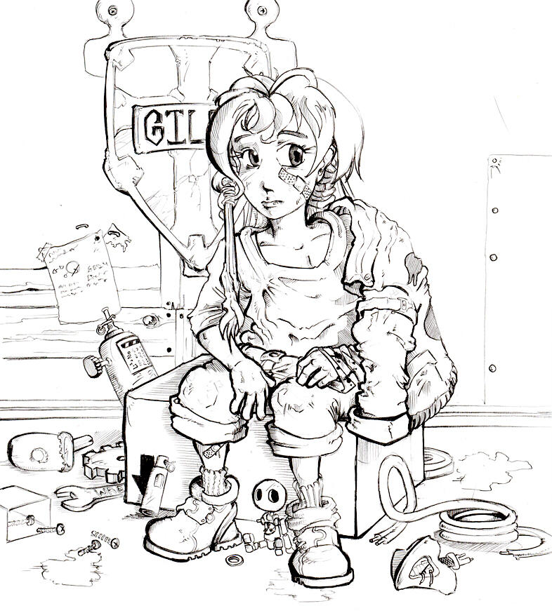 Lena sketch by foolyguy