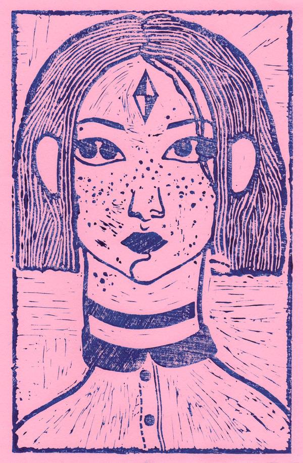 pinkcut by IIOANA-DOUBLEYE
