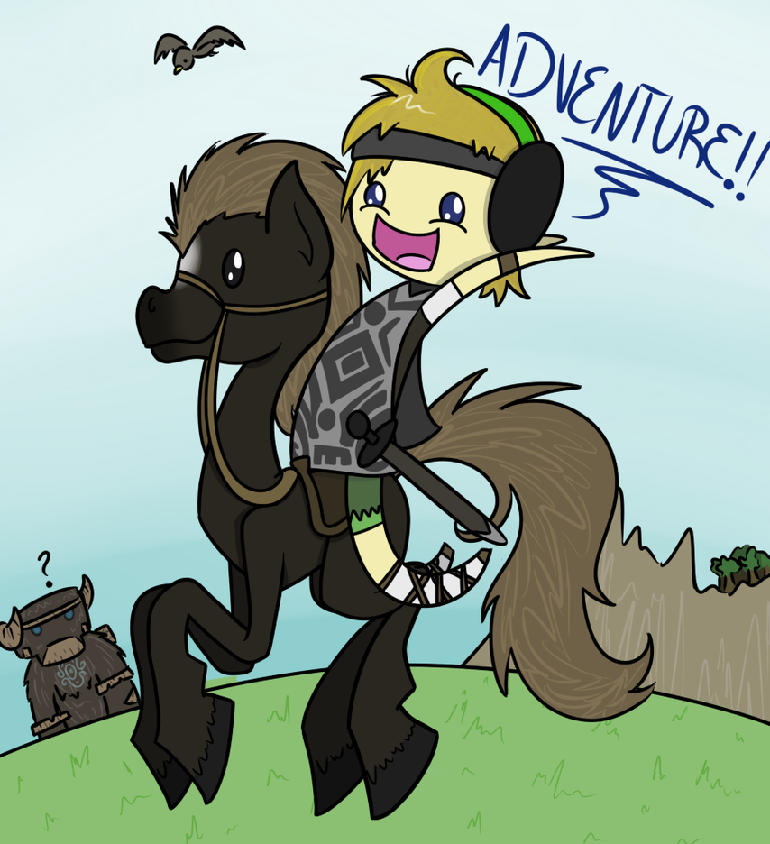Adventure!! by CuTTyCommando