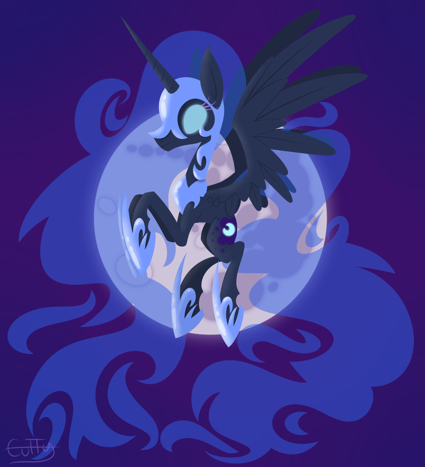 Queen of Eternal Night by CuTTyCommando