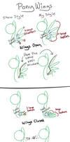 Pony Wing Tutorial