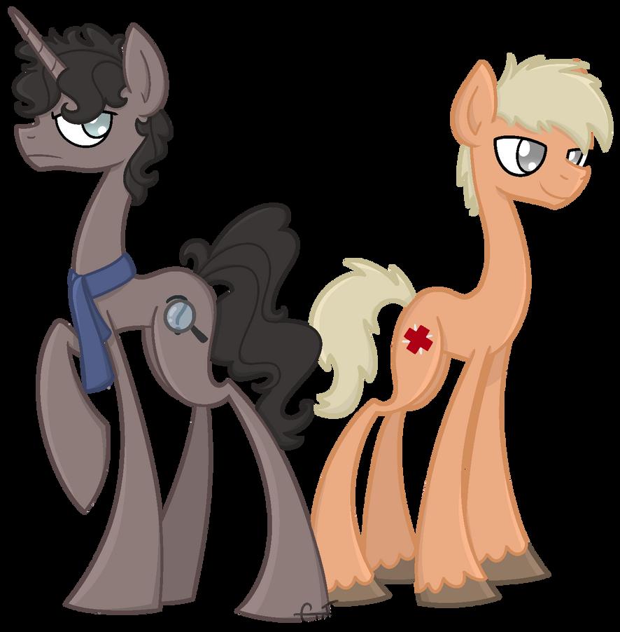 Sherlock Ponies by CuTTyCommando