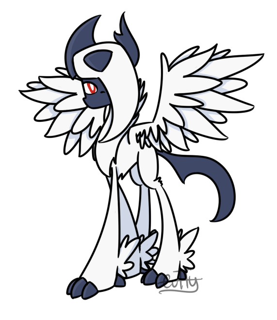 mega absol by CuTTyCommando