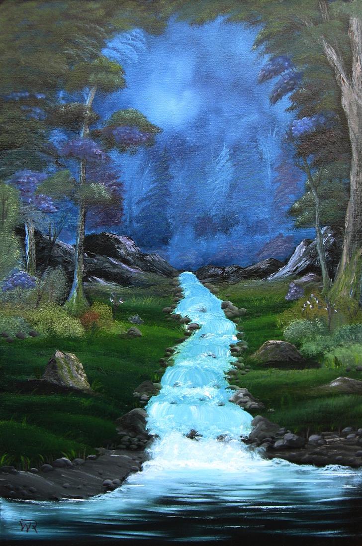 Ashenvale Stream by kryomek1