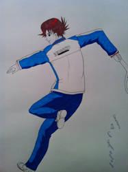 Eiji Kikumaru [colour Update] by Ranchan120