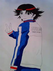 Kikumaru Eiji (coloured Version) by Ranchan120