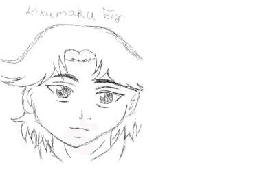 Kikumaru Eiji (drawing pad made) by Ranchan120