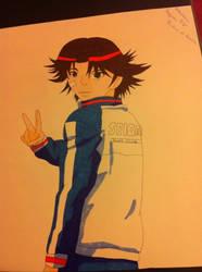 Kikumaru Eiji    (3'rd update colour) by Ranchan120