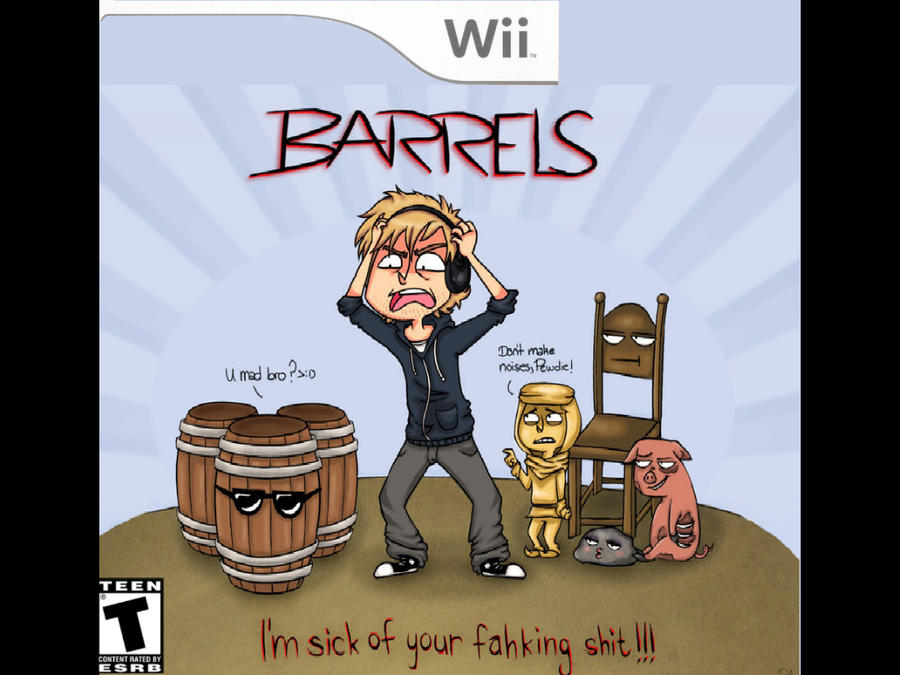Wii Game : Barrels by draculogan123
