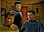Kirk, Spock and McCoy