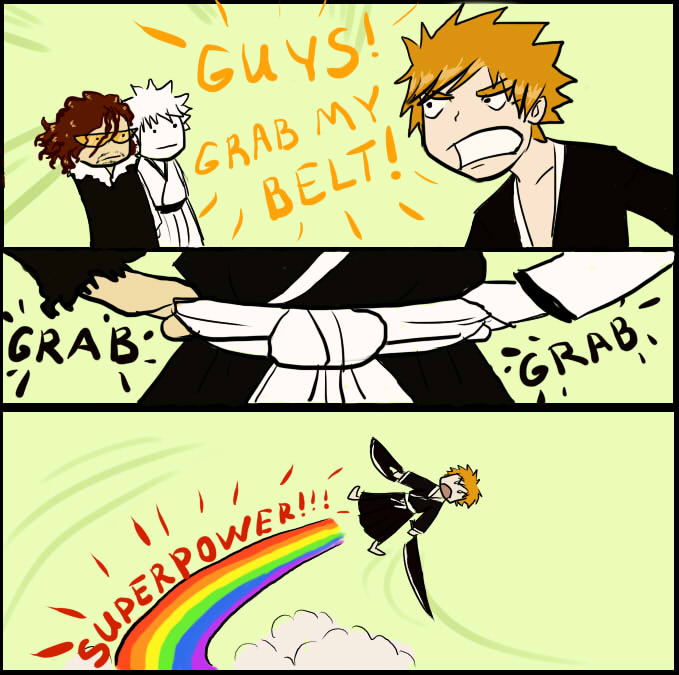 superpower ichigo by greensky222