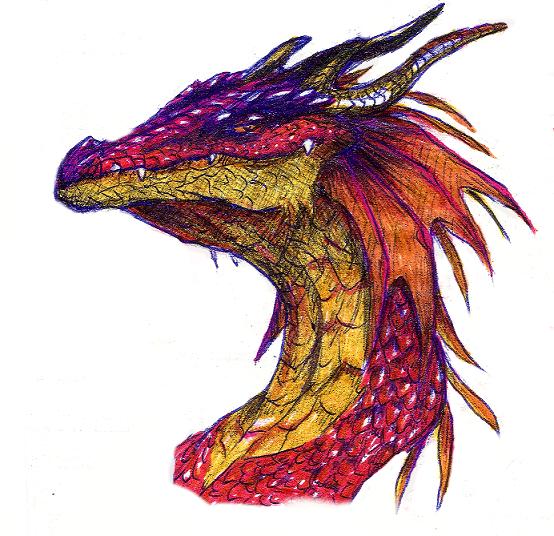 dragon head by greensky222 on deviantart
