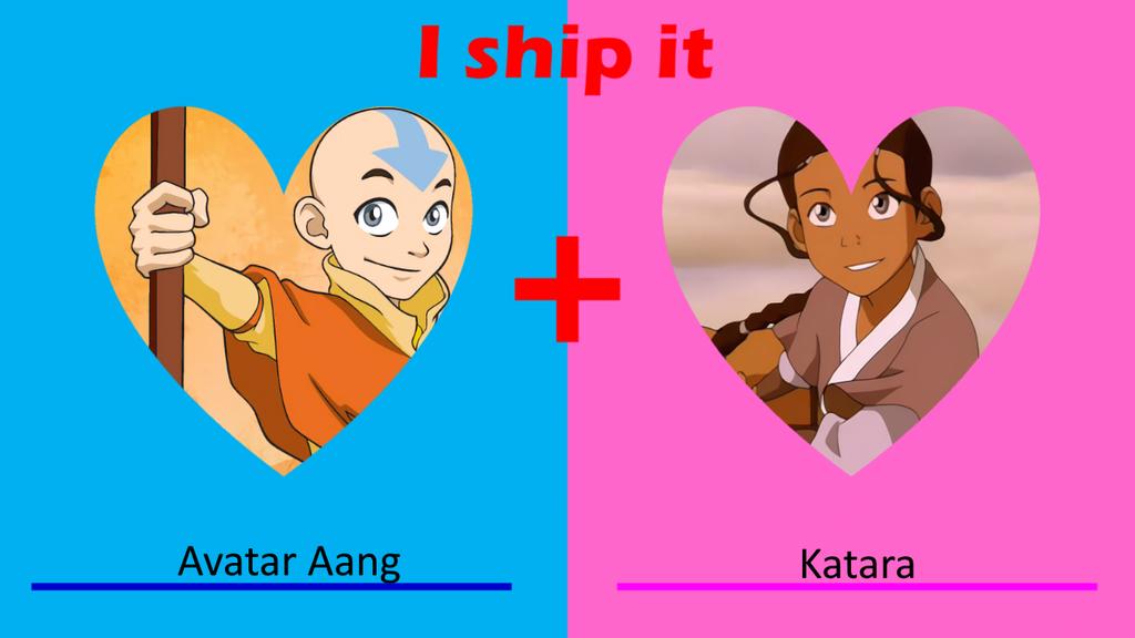 Avatar Aang x Katara by AuroraMisa