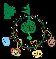 Pokemon Christmas Wreath