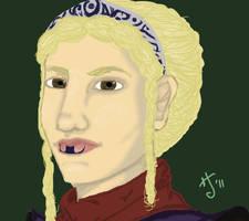 Jedi Girl Headshot by Goblin-Queenie