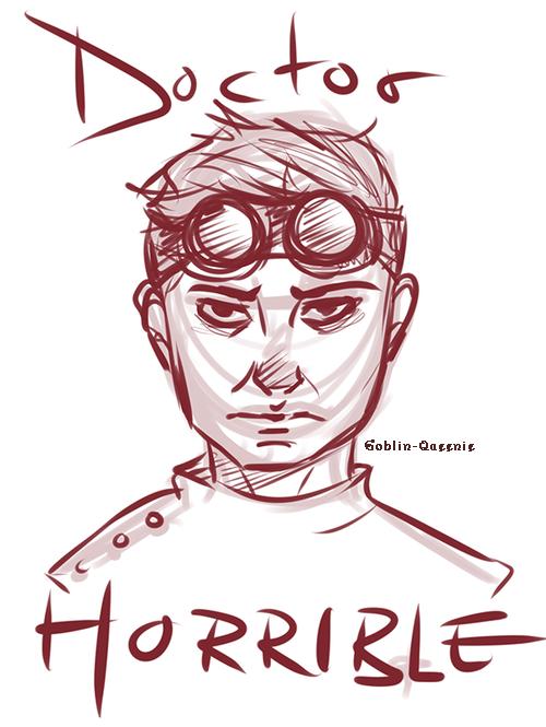 Dr. Horrible Doodle by Goblin-Queenie