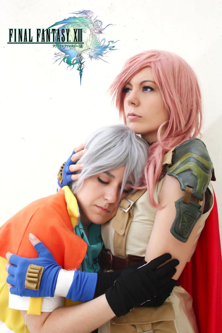 Lightning and Hope FFXIII II by Phadme