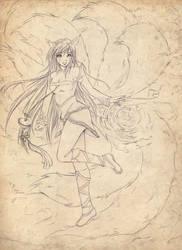 AHRI League of Legends by Phadme