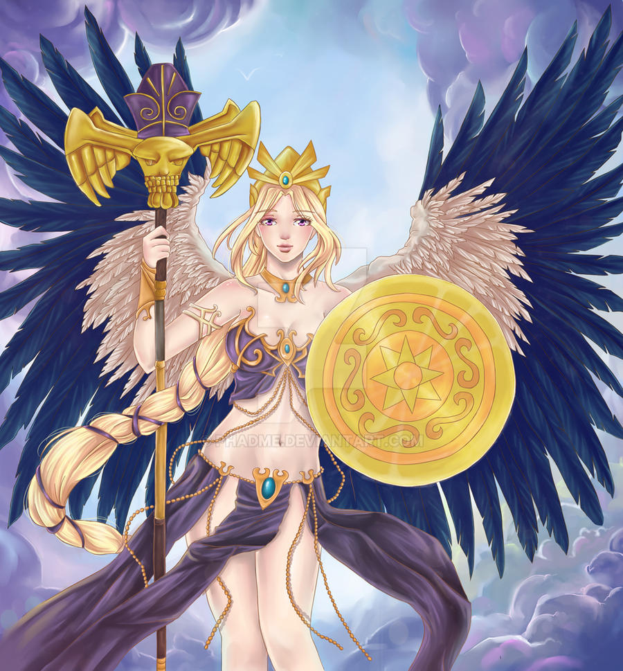 Athena. CLASH OF BONDS CCG by Phadme