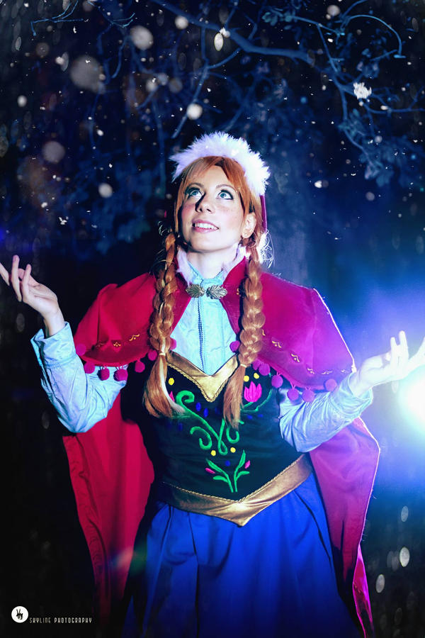 Anna Frozen Cosplay by Phadme